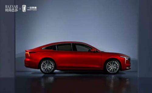 大秀汽车设计与时尚潮流美学共振新奔腾成行业营销范本