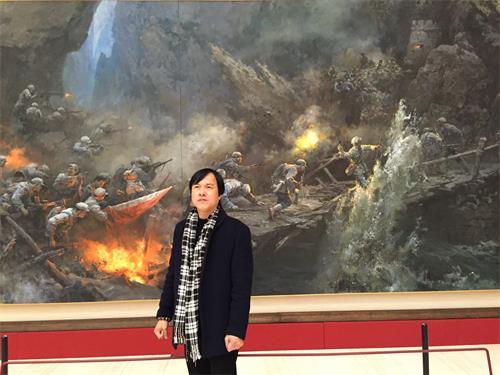 国宾礼书画网副主席 徐忠迪