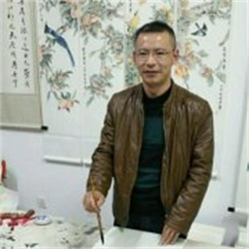 国宾礼书画网副主席 谭乐伦