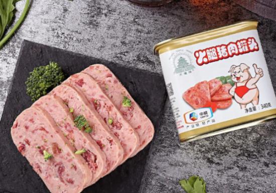 午餐肉那个品牌好吃?别找了就是中粮天坛牌火腿猪肉罐头