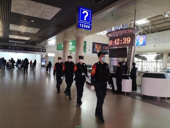 丹東鐵路公安處嚴守鐵路生命線保障旅客出行安全