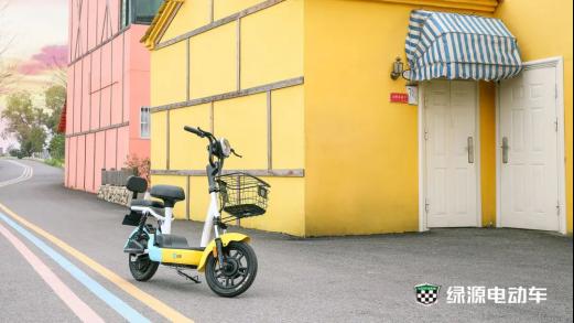 绿源新国标电动车,卡乐03引领新世代生活美学