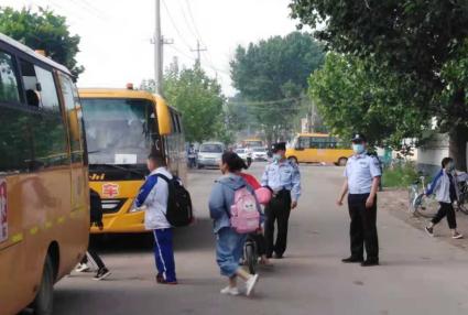 莱阳市躬家庄中学  多措并举强化校园及周边环境综合整治