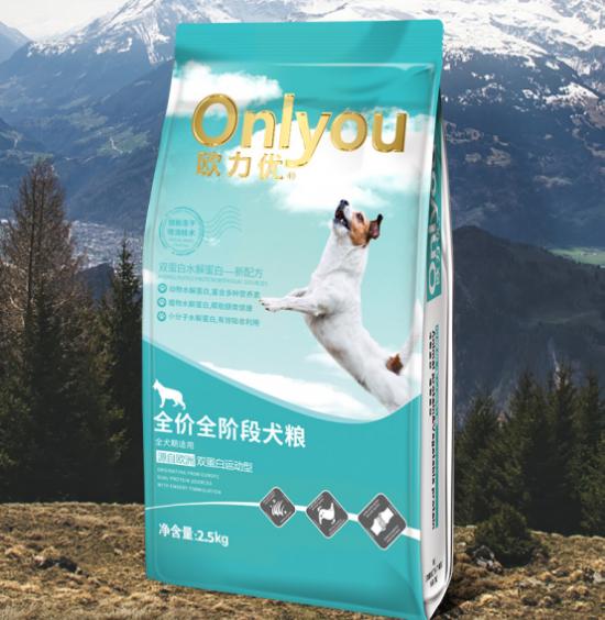 最近有一个牌子叫欧力优,他家狗粮质量好不好?