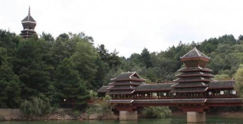 欧宝莱门窗贵阳新品推介会四天后举行,继续游玩——清镇的红枫湖
